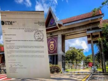 'Yuran UTM naik mendadak, bebankan mahasiswa'