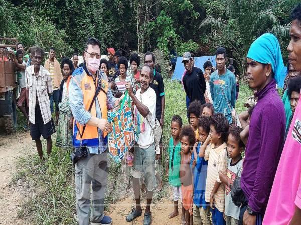 MASYARAKAT orang asli mengharapkan bantuan pihak luar dalam menyelesaikan permasalahan berkaitan air tercemar.