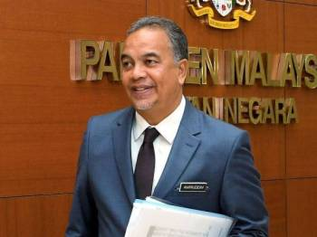 Datuk Ir Amiruddin Hamzah - Foto BERNAMA