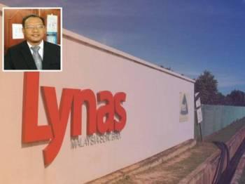 Lynas beroperasi di Gebeng sejak tujuh tahun lalu. (Gambar kecil, Andansura)