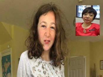 Nora Anne Quoirin dilaporkan hilang sejak pagi Ahad lalu. Gambar Kecil: Nicole Tan Lee Koon