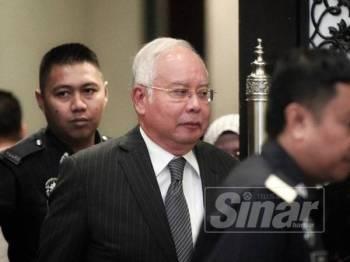 Bekas Perdana Menteri, Datuk Seri Najib Razak - FOTO ZAHID IZZANI