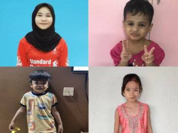 Farah Diba (gambar atas kiri), Rabiatuladawiyah (gambar atas kanan), Arfan (gambar bawah kiri) dan Jasrier.