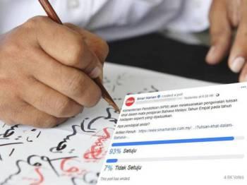 Tinjauan yang dilakukan Sinar Harian di tiga platform digitalnya.