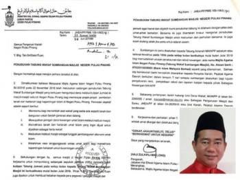 Surat pekeliling yang dikeluarkan JHEAIPP yang tular di media sosial. (Gambar kecil, Azdy)
