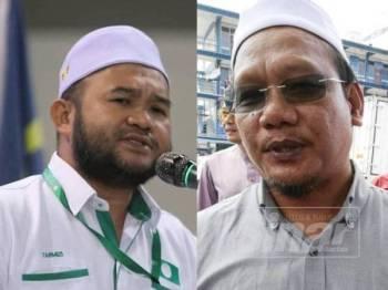 Mohd Tarmizi (kiri) dan Andansura
