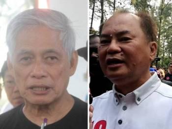 Tan Boon Teet (kiri) dan Ronnie Liu.