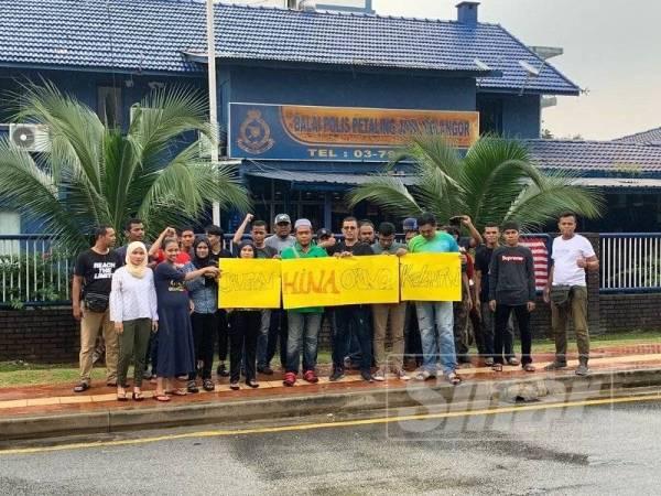Kumpulan Anak Kelantan Prihatin membuat laporan polis semalam berhubung kenyataan yang dikeluarkan seorang artis lelaki yang dilihat sebagai menghina rakyat Kelantan.