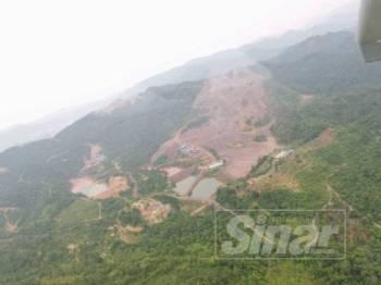 Hutan simpan Sungai Lembing didakwa diterokai secara haram.