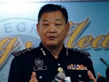 Ketua Polis Negara Datuk Seri Abdul Hamid Bador - Foto BERNAMA