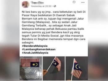 Mohd Fauze memuat naik hantaran di Facebook beliau malam tadi.