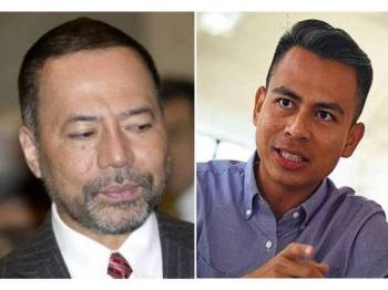Khairuddin (kiri), Fahmi Fadzil