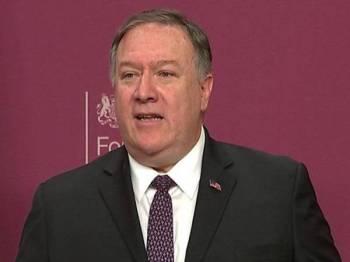 Setiausaha Negara AS, Mike Pompeo gesa kedua-dua negara untuk terus bekerjasama dan mengadakan dialog.
