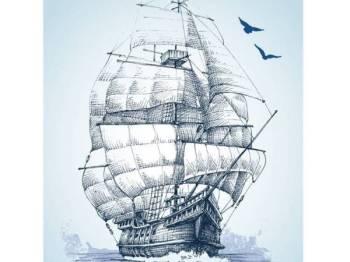 PENGALAMAN Al-Mas'udi sepanjang pelayarannya diabadikan ke dalam karyanya yang menjadi rujukan ramai sehingga hari ini. -Gambar hiasan