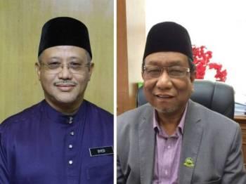 Syed Taha (kiri) dan Abdul Rahman.