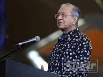 Tun Dr. Mahathir Mohamad. Foto:SINAR HARIAN / ASRIL ASWANDI SHUKOR