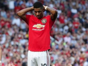Rashford gagal menyempurnakan penalti dalam perlawanan yang menyaksikan United tewas kepada Crystal Palace 1-2.