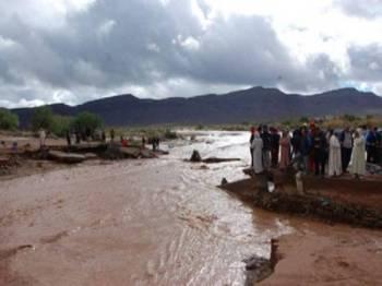 Banjir sering berlaku di Maghribi. - Gambar hiasan