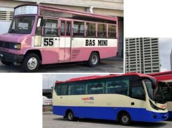 Bas mini yang akan digunakan untuk tempoh percubaan bagi laluan T300 hab Bukit Indah ke Ampang Point bermula 1 September ini.
