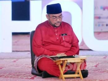 Mujahid hadir pada Malaysia #QuranHour yang diadakan di Masjid Putra, Putrajaya. - Foto Sinar Harian Rosli Talib