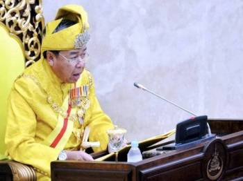 Sultan Sharafuddin Idris Shah. - Foto Bernama
