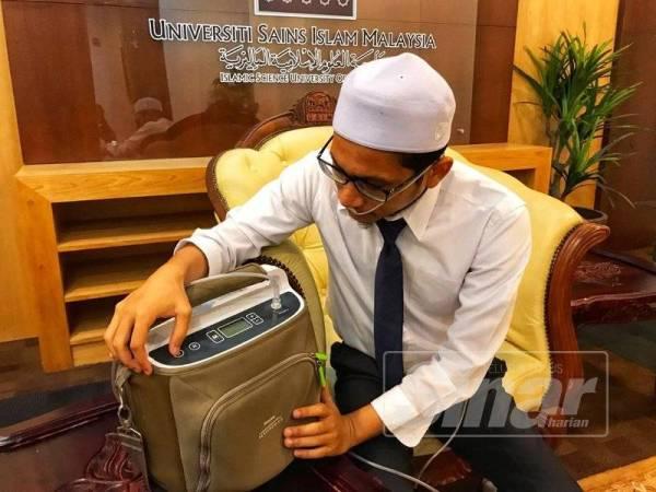 Muhammad Ashnawi sepanjang masa perlu bergantung dengan mesin bantuan pernafasan