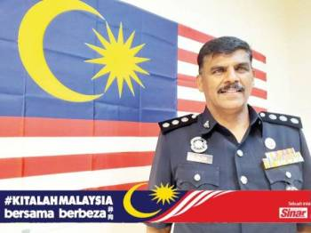 Rajendran amat berbangga dilahirkan di Malaysia.