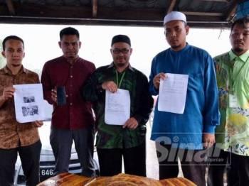 Laporan polis dibuat di IPD Kuala Terengganu petang tadi.