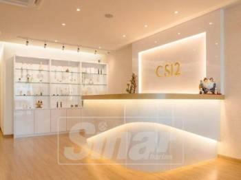 CS12 Skin Care Flagship Beauty Salon menawarkan rawatan wajah untuk semua jenis kulit.