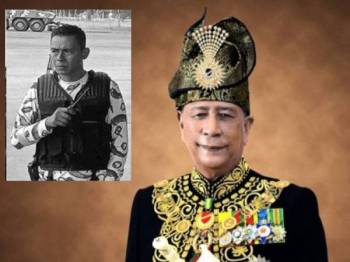 Sultan Sallehuddin. Gambar kecil: Mejar Zahir