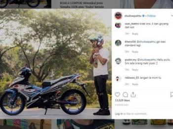 Instagram Shuib Sepahtu