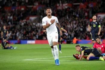 Sancho meledakkan dua gol ketika membantu England meraih kemenangan 5-3 ke atas Kosovo pada aksi Kumpulan A Kelayakan Euro 2020 awal pagi tadi.