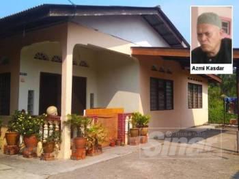Rumah yang didiami pasangan suami isteri yang menjaga mangsa sebelum mangsa dilaporkan meninggal dunia.