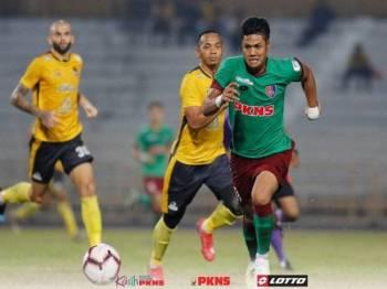 PKNS berjaya menewaskan Negeri Sembilan pada aksi pusingan pertama kumpulan di Stadium Tuanku Abdul Rahman, Ogos lalu. - Foto FB PKNS FC