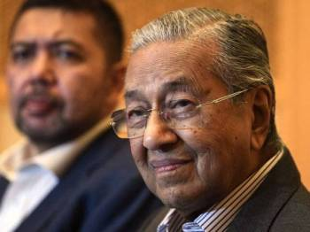Mahathir - Foto Bernama