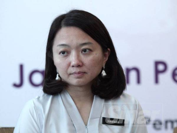 Hanna Yeoh. -Foto Sinar Harian ZAHID IZZANI