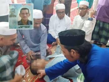 Arwah meninggal dunia selepas melaungkan azan Isyak. Foto: Ihsan Azzahari Gambar kecil: Ahmad