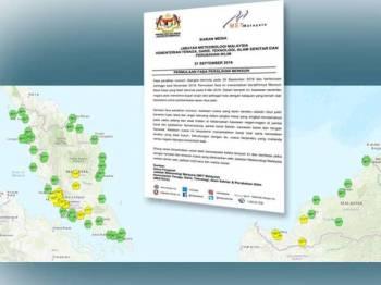 MetMalaysia meramalkan ribut petir bakal melanda negara selepas jerebu berakhir dijangka minggu depan.