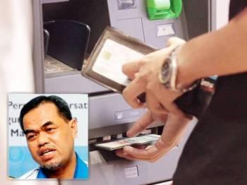 Kebanyakan bank menggalakkan pelanggan menggunakan perkhidmatan pada mesin ATM dan CDM dengan mengurangkan jumlah kaunter di bank peringkat cawangan.