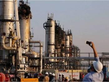 Britain, Perancis dan Jerman menyertai AS menyalahkan Iran bertanggungjawab ke atas serangan di kemudahan minyak milik Aramco. - Foto Agensi