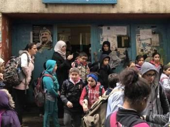Anak-anak pelarian Palestin di Tebing Barat mendapat manfaat daripada dana bantuan Arab Saudi.