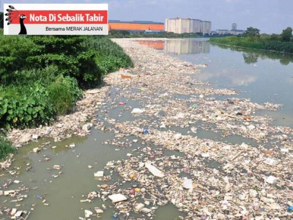 Sungai Bukan Tempat Pembuangan Sampah