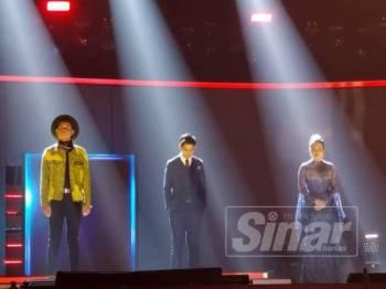 Fieya dan Kucaimara diumumkan sebagai tiga peserta yang mendapat undian terendah bersama Irfan Haris.