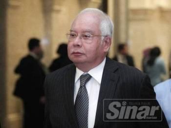 Najib -Foto Sinar Harian