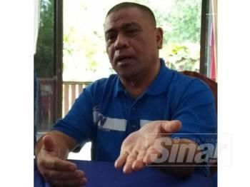 Saarani ketika diwawancara mengenai situasi semasa politik di Perak.