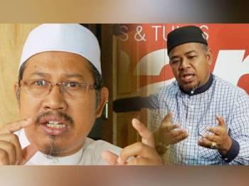 Mohd Nor (kiri) dan Mohd Khairuddin.