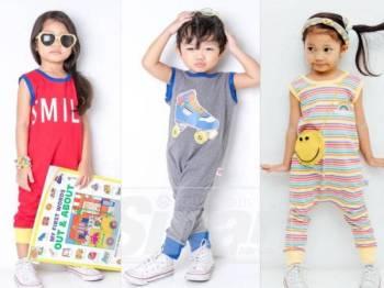 ROMPERS jenama Yay Kidstore berasaskan material kain kapas pelbagai jenis yang berkualiti.