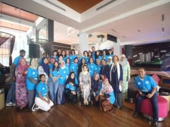 PARA peserta yang hadir menyokong Forum Awam 2019 sempena Hari Keamanan Antarabangsa Pertubuhan Bangsa-Bangsa Bersatu di ibu kota baru-baru ini.