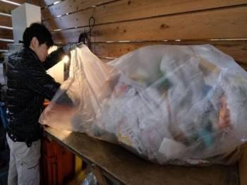 Jepun merupakan pengguna plastik per kapita kedua terbesar di dunia di belakang Amerika Syarikat. - Foto Agensi