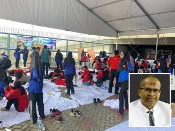 Seramai 22 peserta Kongres Maruah Melayu yang mengalami keracunan makanan semalam masih dirawat di tiga hospital. - Foto Ihsan Jabatan Kesihatan Selangor (Gambar kecil: Khalid)